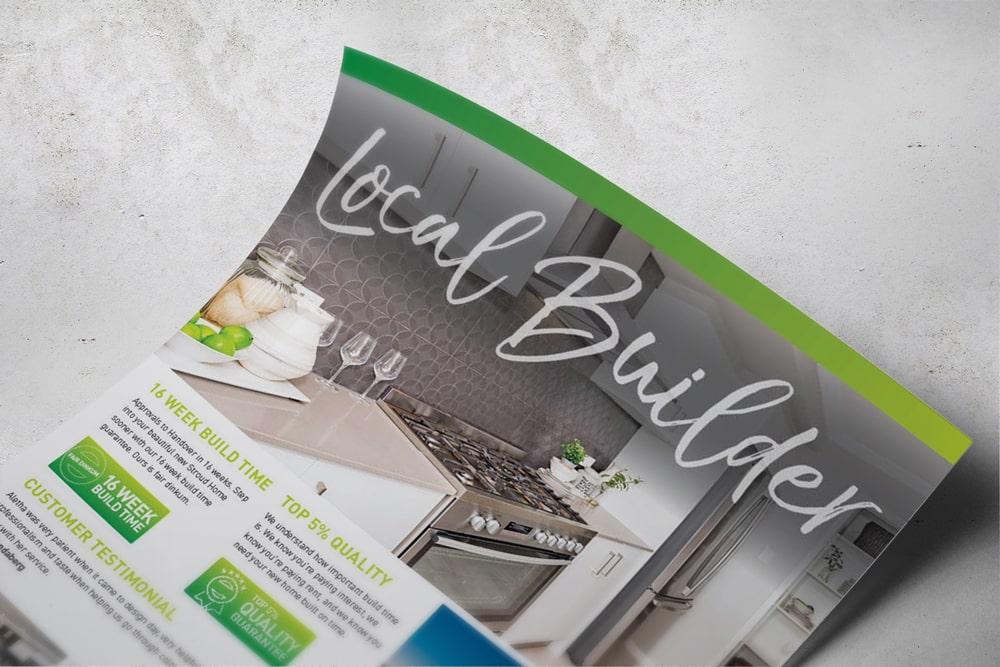 Stroud Homes Local Builder flyer