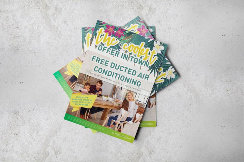 Stroud Homes offer flyer