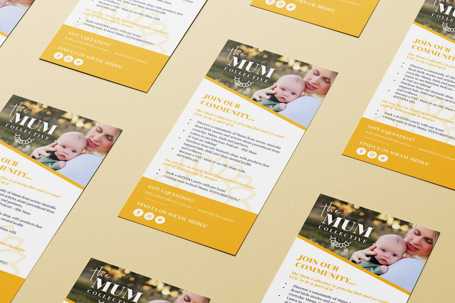The Mum Collective brochure